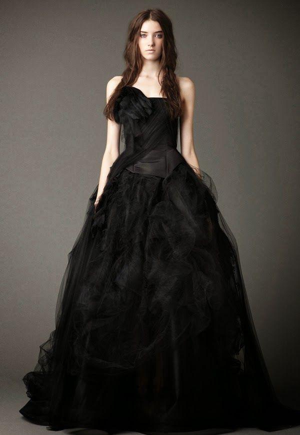 Vestidos De Novia En Negro Blog De Bodas My Wedding Diario